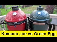 Ever wonder what the difference is between the Kamado Joe and Big Green Egg? Check out this very honest review by How to Lou!   Heartlands carries Kamado Joe grills, sizes Big Joe - Joe Jr. Visit our showroom Monday - Friday 8 a.m. - 5 p.m. and Saturdays 10 a.m. - 3 p.m. to purchase yours today!