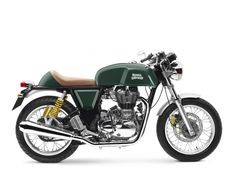 Royal Enfield Continental GT Motorcycle 2016 - Green Cafe Racer - Penrith…