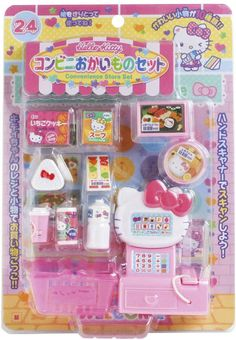 Hello Kitty Kitchen, Hello Kitty Toys, Hello Kitty Birthday, Cute Little Things, Mini Things, Barbie Sets, Barbie Dolls, Doll Crafts, Paper Crafts