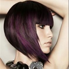 If I were brave. I would have dark purple hair