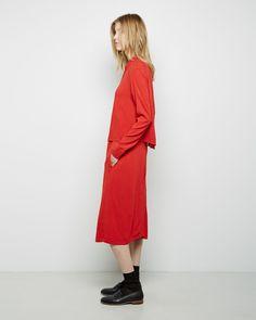 Raquel Allegra / Storm Flap Dress #fw14