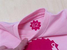 ᐅ Plotterfreebie Größenetiketten Blume & Kreis Download