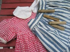 More vintage doll clothes