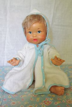 Ideal RubADubDolly, I had the doll and this robe!
