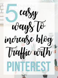 How I Increased My Pageviews by 2,000+ Per Month with Pinterest