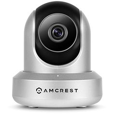 Amcrest 720P Wi-Fi Video Monitoring Security Wireless IP Camera with Pan/Tilt, 2-Way Audio, Plug and Play Setup IPM-721S Silver #homesecuritysystemmonitor