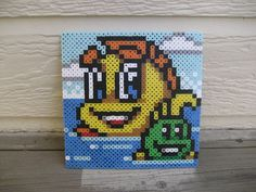 Freddi Fish 5: The Case of the Creature of Coral by CuteBeadBows