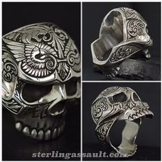 Go follow @sterlingassault for one of the most amazing collections of hand crafted rings available in silver, gold and platinum. Made in the USA. You can order on the website: sterlingassault.com @sterlingassault @sterlingassault @sterlingassault @sterlingassault