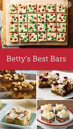 The staple of the season might be cookies, but don't count out these bars—perfect for any holiday party, or just to make for yourself! (We won't tell.)