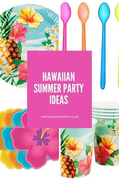 Celebrate a birthday, garden party or anniversary this year Hawaiian style with our collection of plates, tableware and decorations in a Hawaiian themed print that will add a pop of colour to your house or garden. Color Pop, Colour, Summer Parties, Best Part Of Me, Hawaiian, Party Supplies, Anniversary, Party Ideas, Entertaining