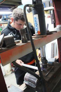 Metal Press Workshop, Desk, Metal, Furniture, Home Decor, Atelier, Desktop, Decoration Home, Room Decor