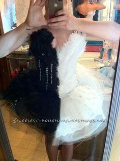Original Two-Faced Black Swan Costume...