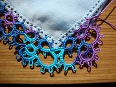 I want to do this for my girls.  pretty tatting