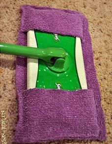 This just inspired me to get up and go make these!! DIY cleaners plus link to Make your own Swiffer