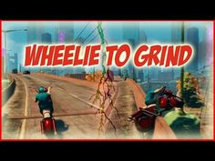 """Wheelie to Grind with MotoBike in """"Saints row: the third"""" - YouTube"""