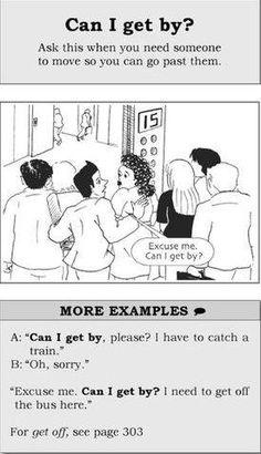 Permiso para pasar en inglés.