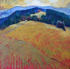 Miroslav Bucher olej 70x70 Miro, Painting, Painting Art, Paintings, Paint, Draw