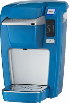 Keurig - K15 Single-Serve Coffee Maker - True blue - Left Zoom