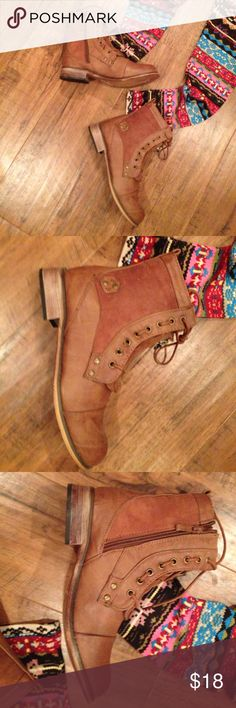 """❤️ SuPeR CuTe BOOTS! 😍 BRAND NEW with TAGS!  (No Box) """"Cowgirl"""" Jacobies Brand, Side Zip, and CUTE :) Jacobies Shoes Ankle Boots & Booties"""