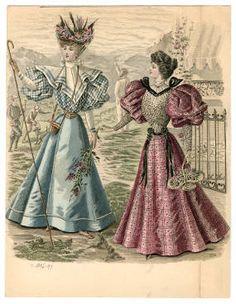 1895-1898, Plate 039 :: Costume Institute Fashion Plates