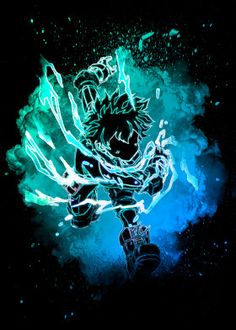 Soul of the Black Whip Midoriya Izuku - Main Character in My Hero Academia. My Hero Academia Episodes, My Hero Academia Memes, Hero Academia Characters, My Hero Academia Manga, Otaku Anime, Anime Art, Arte Assassins Creed, Deku Boku No Hero, Hero Poster