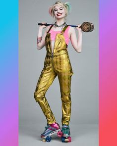 Arlequina Margot Robbie, Margot Robbie Harley Quinn, Joker And Harley Quinn, New Harley, Bad Kids, Comic Movies, Comics Girls, Gotham City, Aesthetic Girl