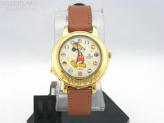 "Lorus Musical Mickey Mouse Watch Plays ""It's a Small World"" SuzePlace.com"