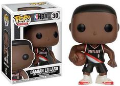 Damian Lillard, Online Toy Stores, Toys Online, Vinyl Toys, Funko Pop Vinyl, Pop Characters, Disney Characters, Nba Live, Collectible Figurines