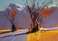 Canterbury Winter by tony allain