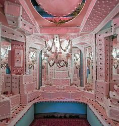 "Scott Hove's Installation ""Cakeland"" Transforms Interiors Into A Wonderland Of Sweets"