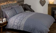 Groupon - Festive Scandinavian Duvet Set or Fleecy Throw from £12.98 (Up to 68%). Groupon deal price: £12.98