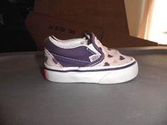 7154f344a01a3e Vans Toddler Heart Slip On Shoes Size 4.5 T  VANS  Athletic Vans Toddler
