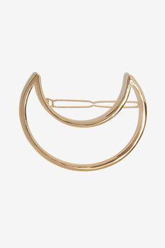Moonage Metallic Barette - Accessories | Hair + Hats