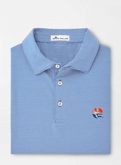 Blue, large $115 School Logo, Golf Shirts, Florida, Polo, Shirt Dress, Fabric, Sleeves, Mens Tops, Blue