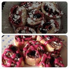 Blueberry and yoghurt swirls. Rolled out.Filled with blueberries. Cut into wedges. High for 2 hours Slow Cooker Cake, Yogurt Cups, Blueberries, 1 Cup, Swirls, Muffin, Rolls, Wedges, Cakes