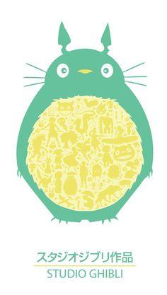 Studio Ghibli Poster... - Quesolola=v=采集到【Los AnimAles】 - 花瓣 Hayao Miyazaki, Studio Ghibli Poster, Studio Ghibli Movies, My Neighbour Totoro, Mei Totoro, Tales From Earthsea, T Movie, Howls Moving Castle, Animation
