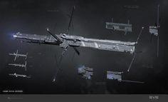 ArtStation - Jackdaw, Caldari tactical destroyer, Pavel Savchuk