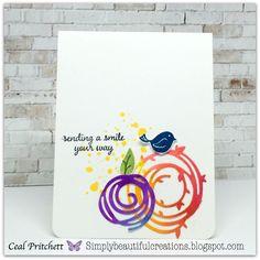 Simply Beautiful: Swirly Bird