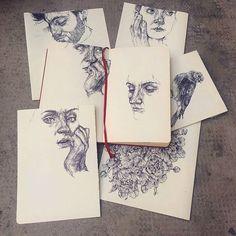 Gaia Alari - A few of my quick practice sketches