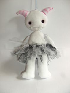 Monster Plushie Of Uber Cuteness ∙ Creation by Mi.ezekatze on Cut Out + Keep