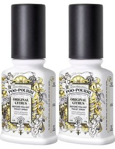 PooPourri BeforeYouGo Toilet Spray Bottle 2 oz Original Scent 2 Count -- Continue to the product at the image link.-It is an affiliate link to Amazon. #HomeFragrance