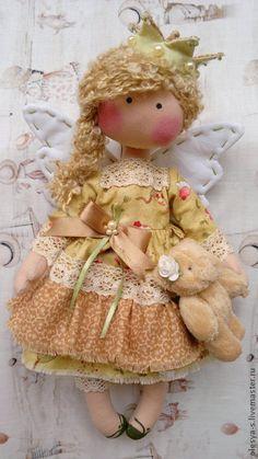 Comprar Princesa Michelle - verde, anjo, boneca presente artesanal para uma mulher, batizado