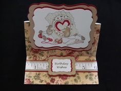 Cards By Chrissie: Birthday Card - House Mouse - Sew Happy