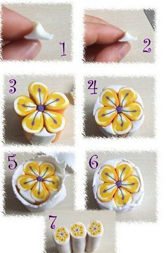 Keeping your flowerpetals round when you are making a cane  #Polymer #Clay #Canes