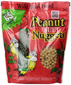 C & S Products Peanut Nuggets Pack of 6