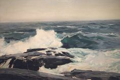 Art and Influence: Frederick Waugh Notes on Marine Painting