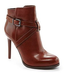 Gianni Bini Keeley Strap Booties #Dillards