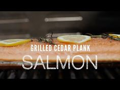 Try something new tonight. Grill salmon on a cedar plank. The salmon takes on a smoky cedar flavor balanced by bright lemony, herby flavors. Wonderful eaten straight from the grill or chilled and flaked on top of a salad.