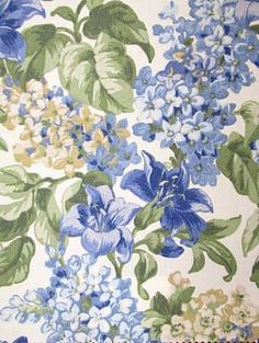 """Paltrow Sapphire...by Robert Allen for durable, outdoor fabric. 27"""" repeat. 100% acrylic resists sun...valance? $16.95 per yd. http://www.housefabric.com/Paltrow-Sapphire-P3846.aspx"""