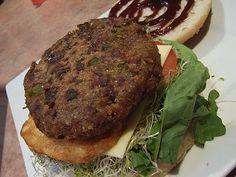 BBQ Seitan Burgers..